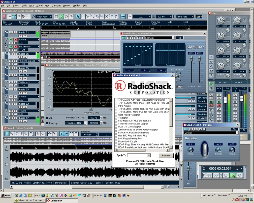 Radio Shack VST