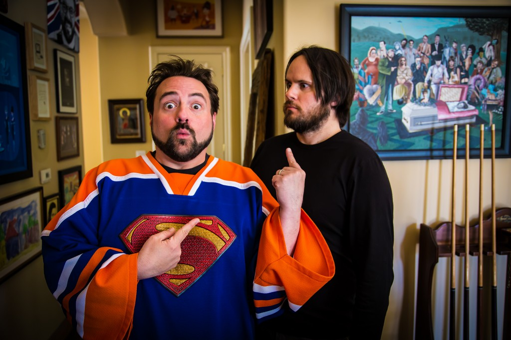 Kevin Smith and Carl King